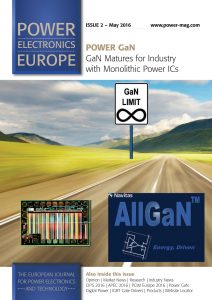 Power Electronics Europe (May 2016) - front page